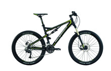 Bergamont Contrail 5.3 black/lime green (matt)